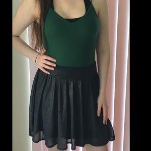 Dresses & Skirts - Shiny Black Skirt